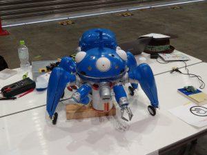 MakerFaireTokyo2016 タチコマ